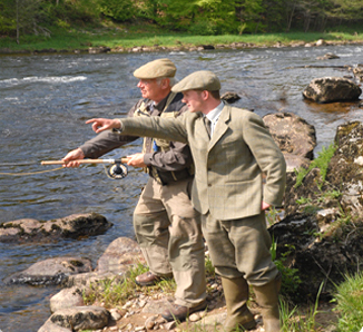 Fly fishing tuition, Scotland
